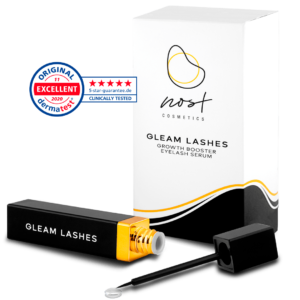 Gleam Lashes Excellent Dermatest Certificate
