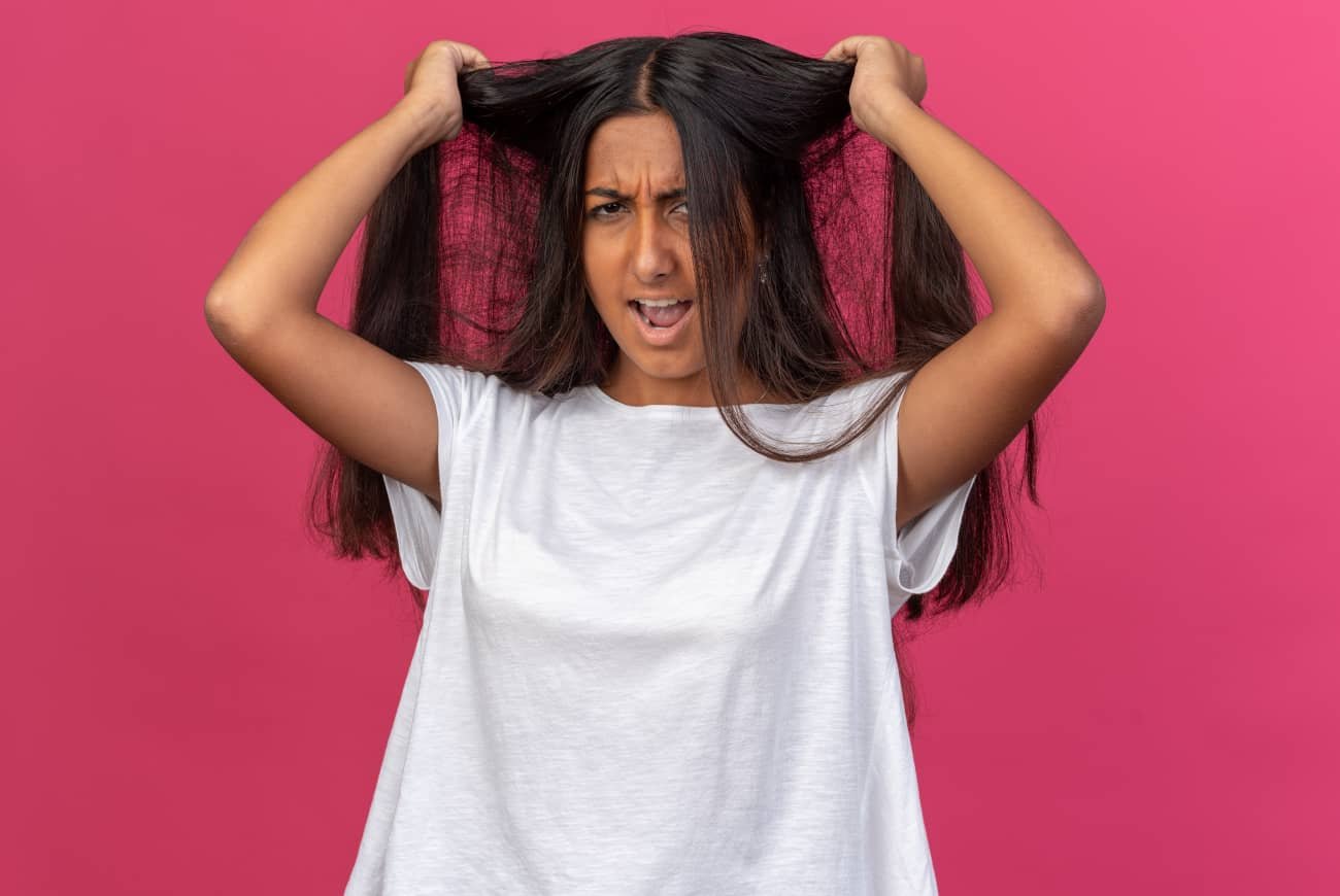 síntomas tricotilomanía chica